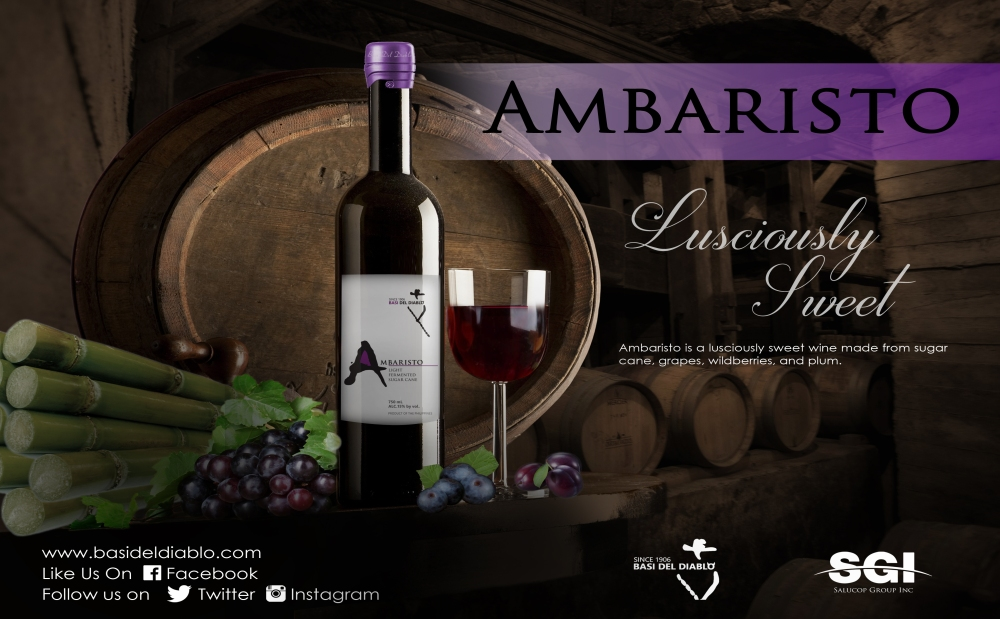 ambaristo wine poster copy